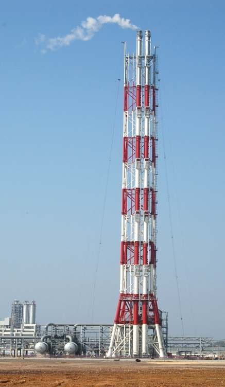 Erection of Flare stack for Paradip Refinery