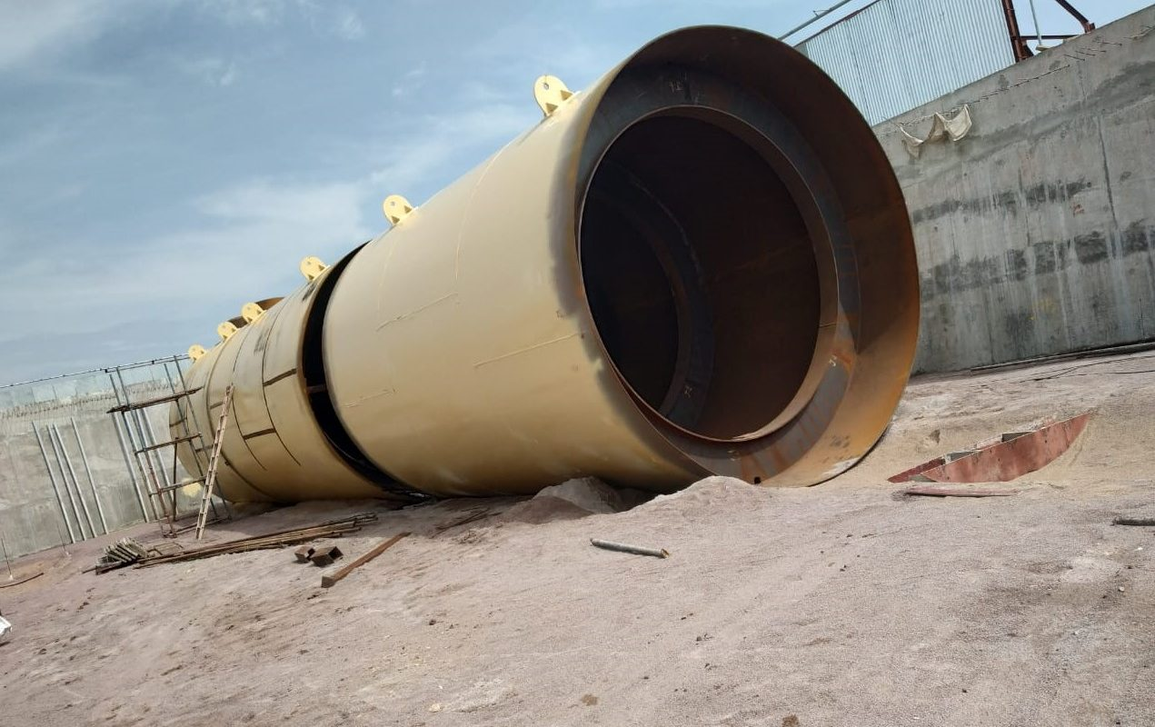 Construction of Mounded Storage Vessels at Jhansi
