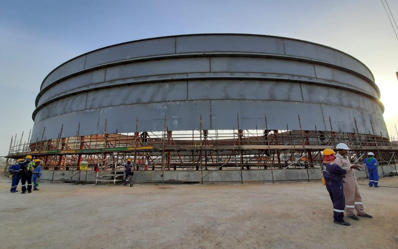 DIPWP Storage Tanks, Oman