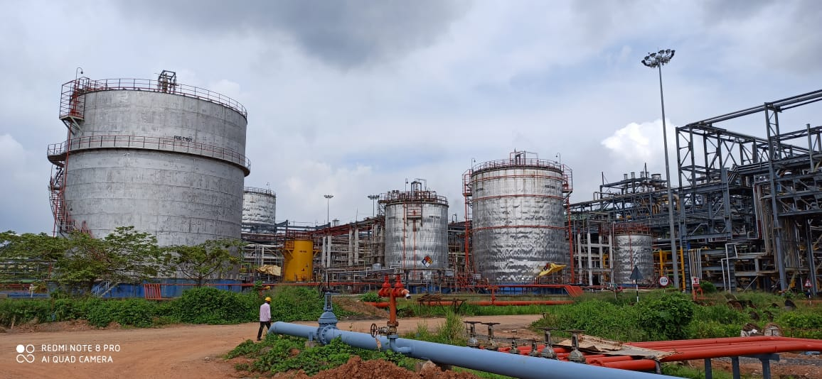 TANKAGE WORKS (PART-B) FOR ACRYLATE UNIT & OFFSITE OF PROPYLENE